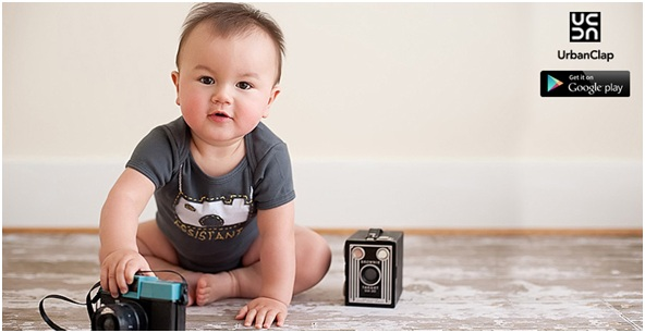 Get the best looks out of your little one by hiring a professional Baby Photographer
